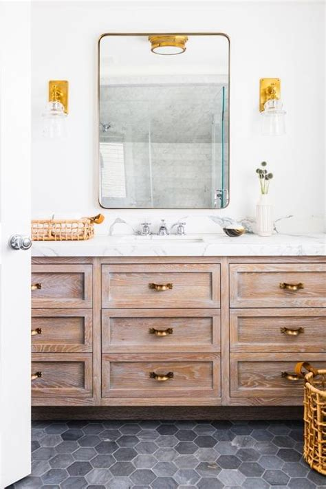 bathroom mixed metals interior design inspiration photos by tharon anderson design