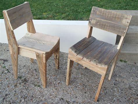 chaise en palette la menuiserie 503 chaises en bois de palette