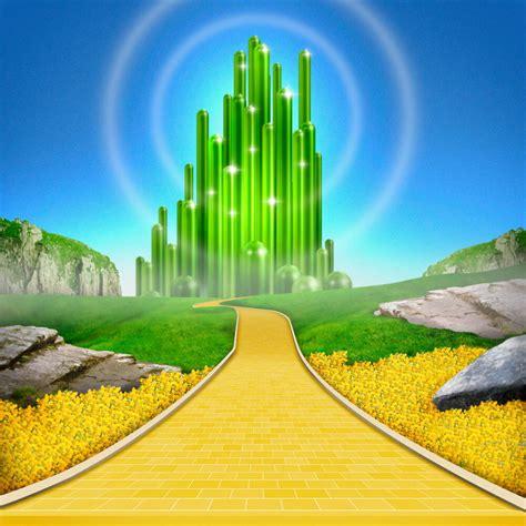 wizard of oz background emerald city wallpaper wallpapersafari