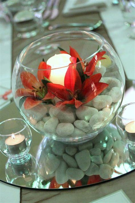 43 best images about fishbowl wedding centerpieces on