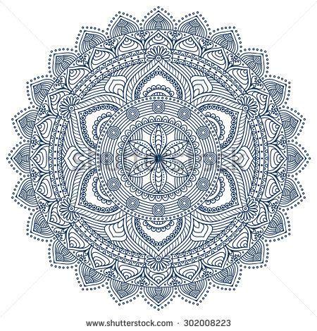 ottoman lyrics mandala vintage decorative elements pattern
