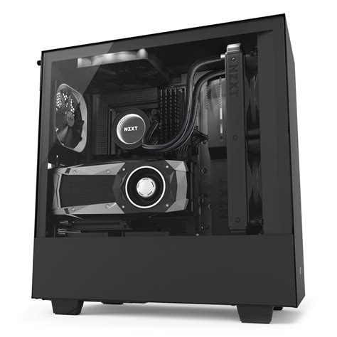 Nzxt Hue Black White By Aconx h500i nzxt
