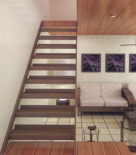 tangga minimalis  rumah  lantai