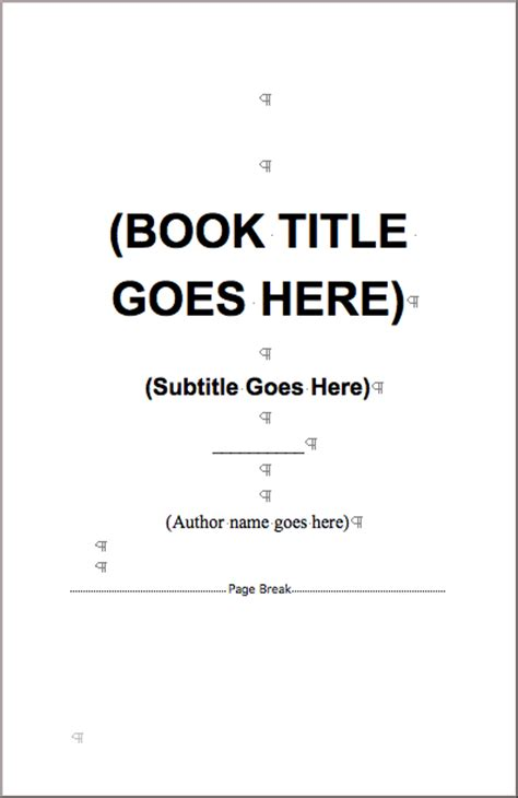 book template for microsoft word books printed quickly for self publlishers at 48hrbooks