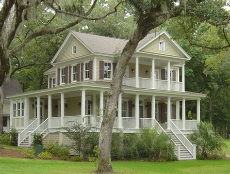 wrap around porch house plans southern living winnsboro heights moser design group southern living