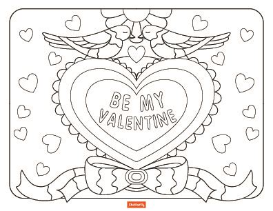 valentines pictures to color llamacorn coloring pages at getcolorings free