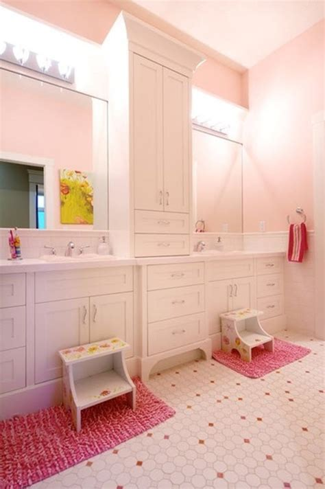 girly bathroom ideas 35 pink bathroom floor tiles ideas and pictures