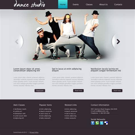 education theme dance dance studio drupal template 41585