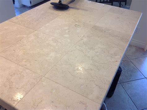 Tile Countertops San Francisco Marble Tile Countertop Polishing Grout