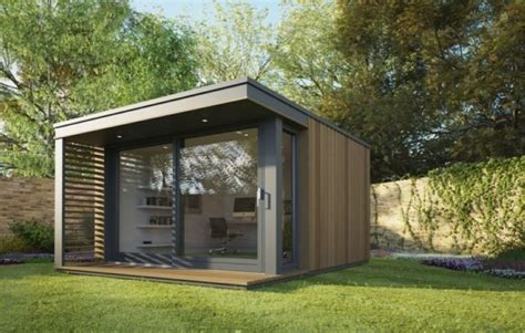 modern accents holiday home prefabricated garden studio