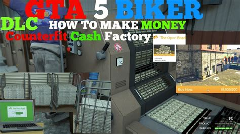 How To Make More Money On Gta 5 Online - gta 5 biker dlc how to make money counterfeit cash factory staff arrive workers