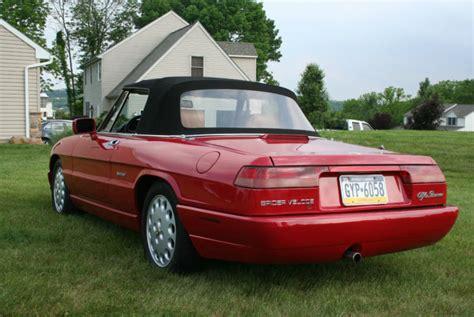 1994 Alfa Romeo Spider For Sale by Classic Italian Cars For Sale 187 Archive 187 1994 Alfa