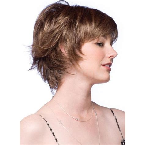 images of short feathered hairstyles gorgeous short feathered hairstyle synthetic hair