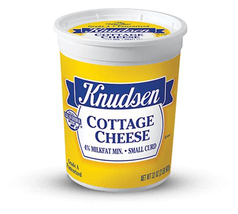 cottage cheese curd knudsen products cottage cheese