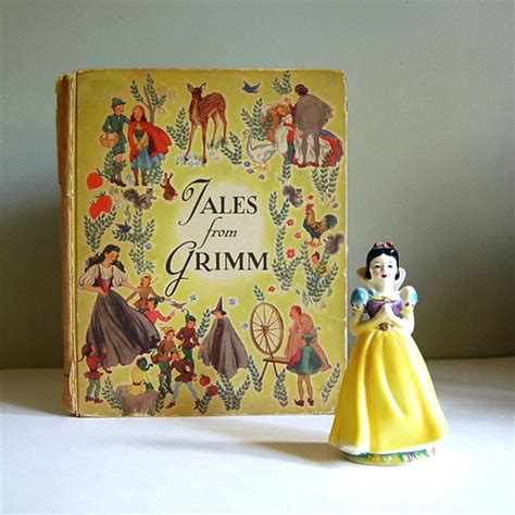 the illustrated stanshall a fairytale of grimm books tales from grimm vintage tale book vintage