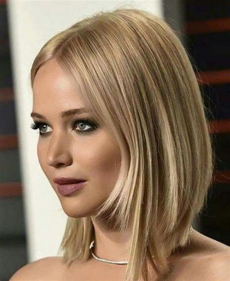 long hairstyles book 2017 jennifer lawrence symmetrical layered bob hairstyles