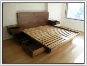 cal king platform bed frame plans uncategorized