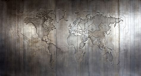 london pattern metal works recent works by london studio based upon wallpaper