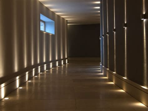 Home Decor Led Lights corridor the stylish connecting space happho
