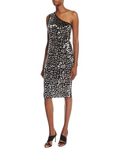 Who Wore It Better Michael Kors Leopard Sheath Dress by Michael Kors Sheath Dress Neiman