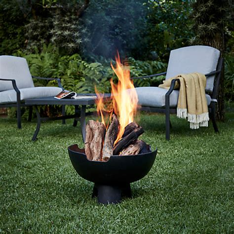 buy firepit buy mors 248 outdoor firepit black lewis