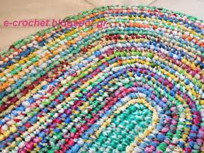Plarn Rug E Crochet Eco Friendly Rugs