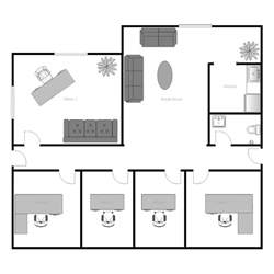 floor plan of office office building floor plan