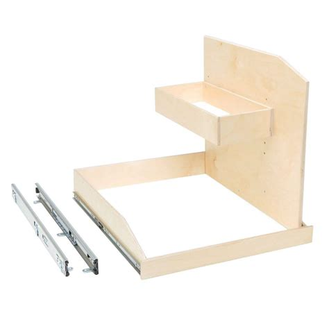 Outer Shelf by Slide A Shelf Made To Fit 12 In To 30 In Wide