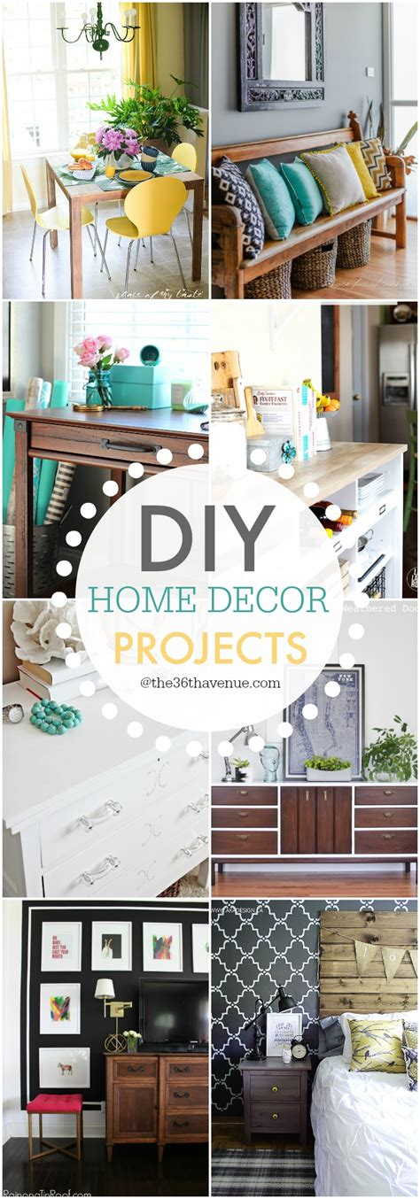 diy projects home decor the 36th avenue diy home decor projects and ideas the