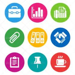 color business icons graphicriver
