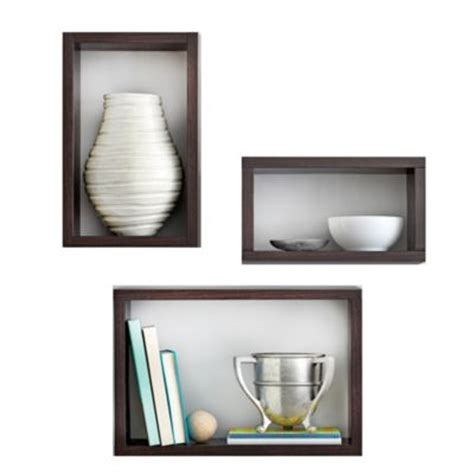 shelves bed bath and beyond real simple decorative shelves 187 bed bath beyond video