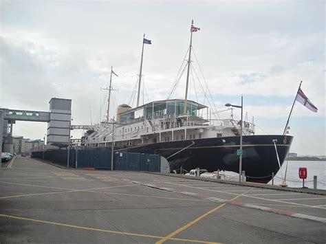 boat sales edinburgh visitors flock to visit royal yacht britannia as it s