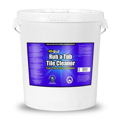 non toxic bathtub cleaner rub a tub tile cleaner non toxic 5 gallon