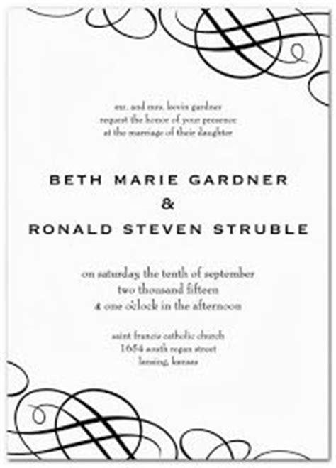 1434 03 invitaciones de boda en blanco y negro jpg jpg pictures to pin invitaciones para boda on pinterest bodas wedding