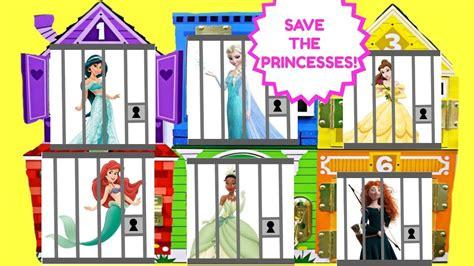 disney princesses belle tiana elsa jasmine ariel merida