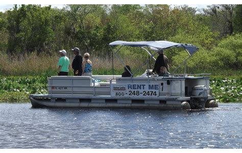pontoon boat rental on the st johns river near orlando - Pontoon Boat Rental St Johns River