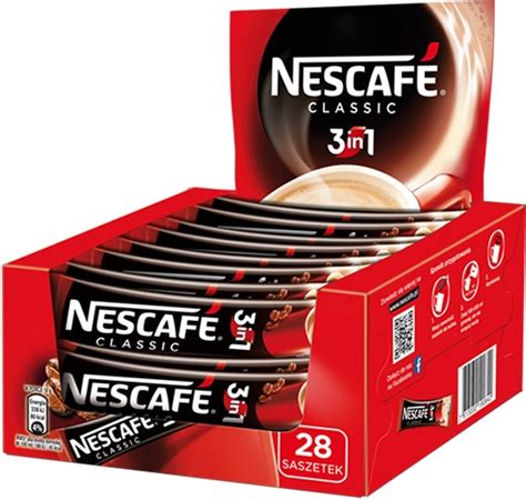 Nescafe 3in1 Original 30 X 17 5gr nescafe 3 in 1 classic instant coffee with and sugar