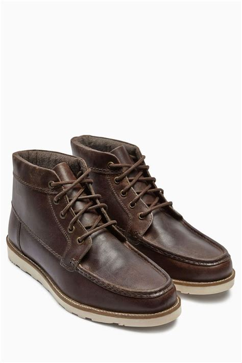 next brown apron boot shopstyle co uk