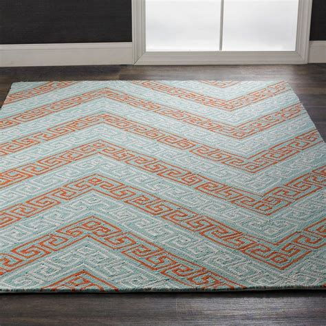 Indoor Outdoor Chevron Rug Key Chevron Indoor Outdoor Rug Available In 3 Colors Blue Sky