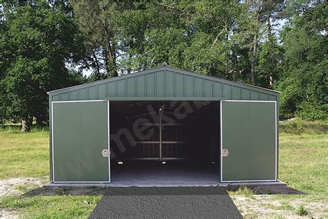 Garage Metallique En Kit 40m2 4108 by B 226 Timents Et Abris M 233 Talliques En Kit Hangars Agricoles