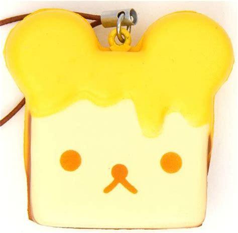 Squishy Donat 1 rilakkuma meets honey toast squishy cellphone charm rilakkuma honey toast and