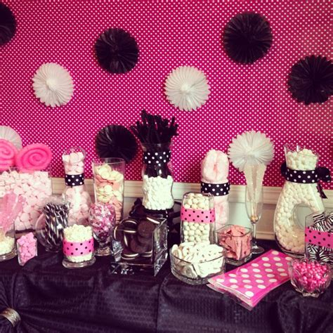 pink and black buffet 49 best images about ideas zebra baby shower on