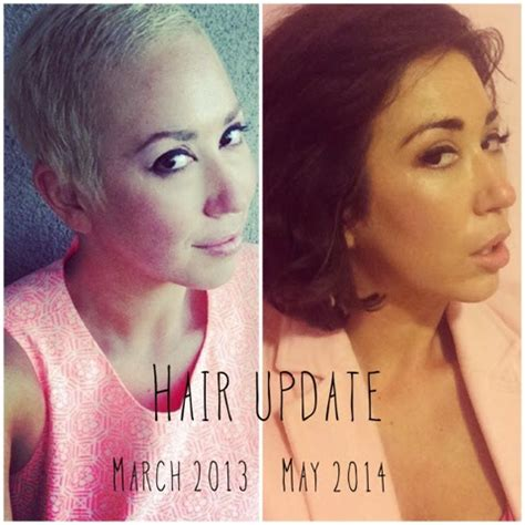 how to grow hair out after chemo growing your hair out after chemo 14 months post pixie