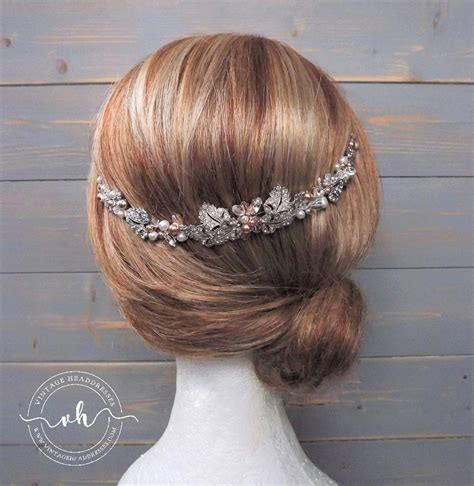 Vintage Wedding Hair Vines by Vintage Bridal Hair Vine From Vintage Headdresses