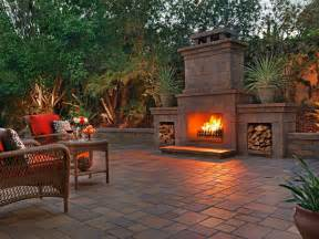 outdoor fireplace san diego backyard gas fireplaces san diego pavers san diego