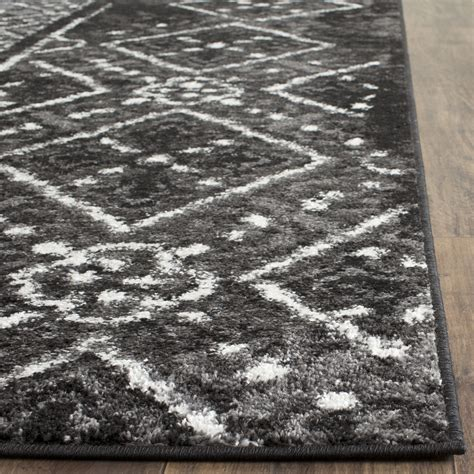 Safavieh Adirondack Black Silver Area Rug Reviews Wayfair Silver Area Rugs