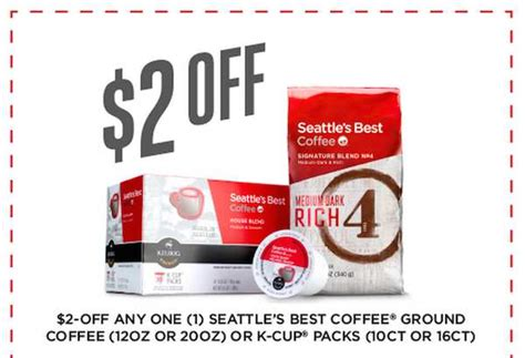 Printable Coupons and Deals ? $2.00 Seattle?s Best Coffee