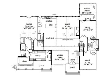 one story home plans with basement large images for house plan 163 1027