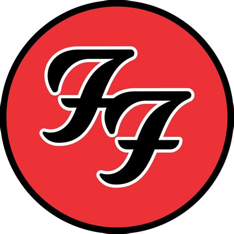 foo fighters vinyl sticker decal colour band logo