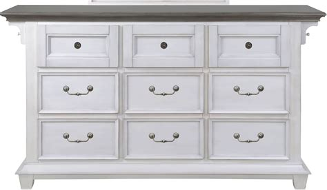 Grey Wood Dresser by Hton Bay Weathered White And Antique Grey Wood Drawer